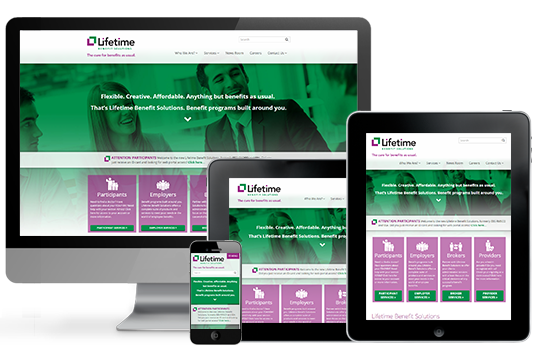 Lifetime Benefits Solutions Website Design