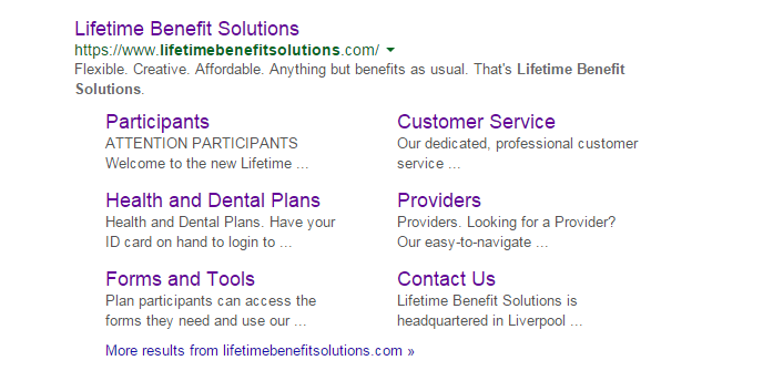 Lifetime Benefit Solutions Google Search