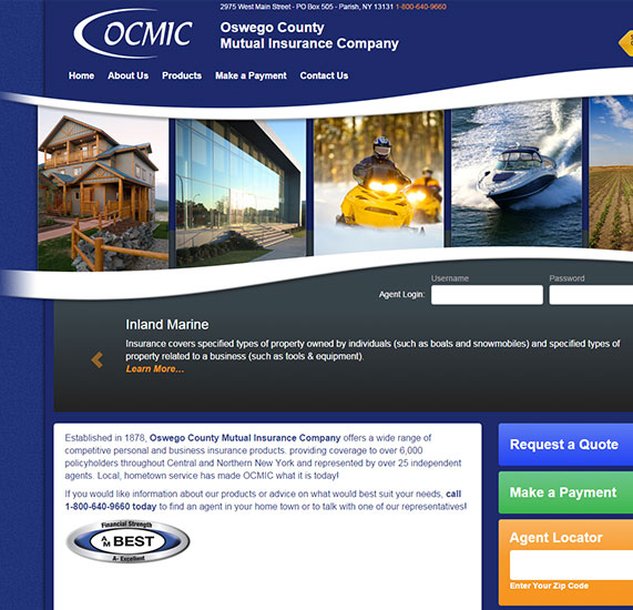 Insurance Content Management System Design Project