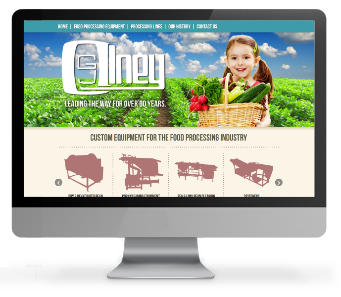 Responsive Design example for Olney