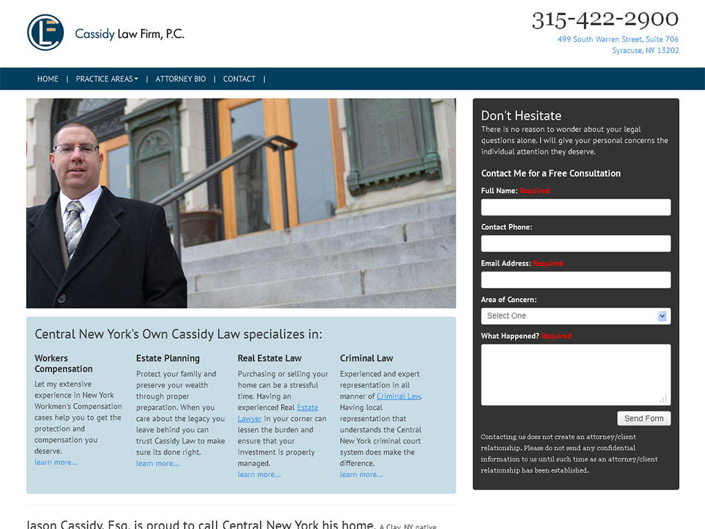 Legal Web Design Project