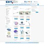 Healthcare Ecommerce Shopping Cart Website Products