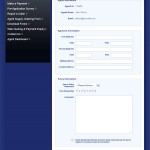 Internet Web Application Agent Secure Web Form