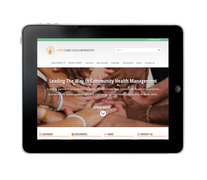 responsive healthcare website redesign