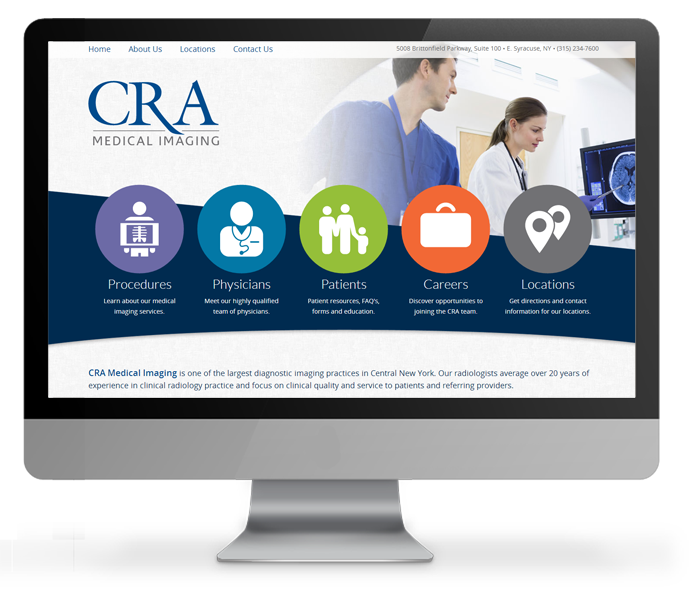 Medical Imaging Website Design CRA