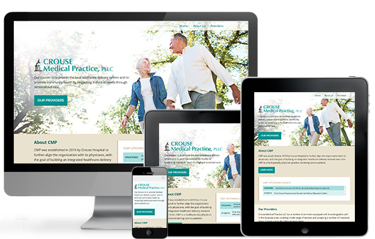 crouse medical practice new website