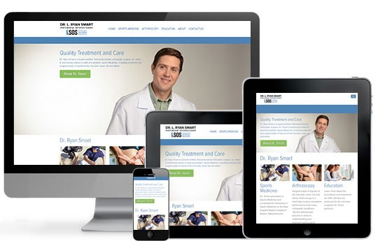Doctor Web Design Responsive Layout