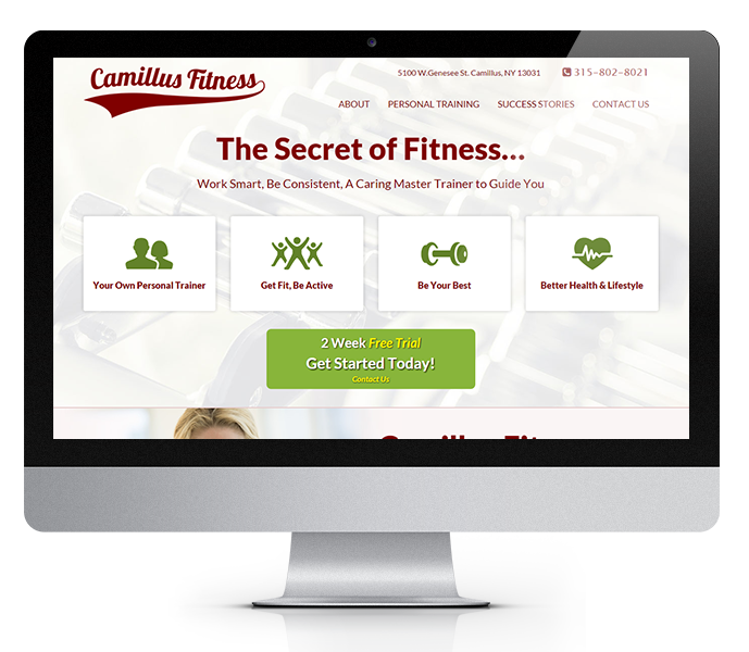 Personal Trainer Launch Website