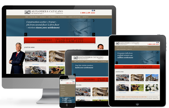 Responsive Legal Website Upgrade