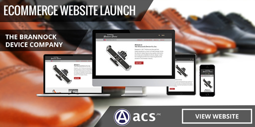 responsive retail footwear website design