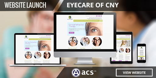 optometrist website design