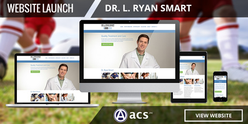 medical doctor web design