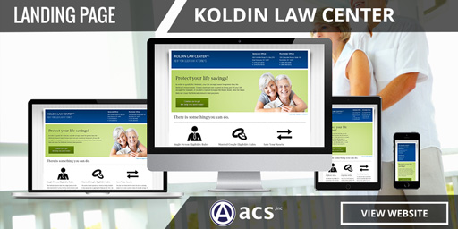 Law Firm Landing Pages for Elder Law