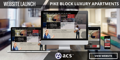 responsive apartment website design