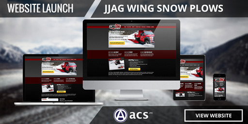 commercial snow removal web design