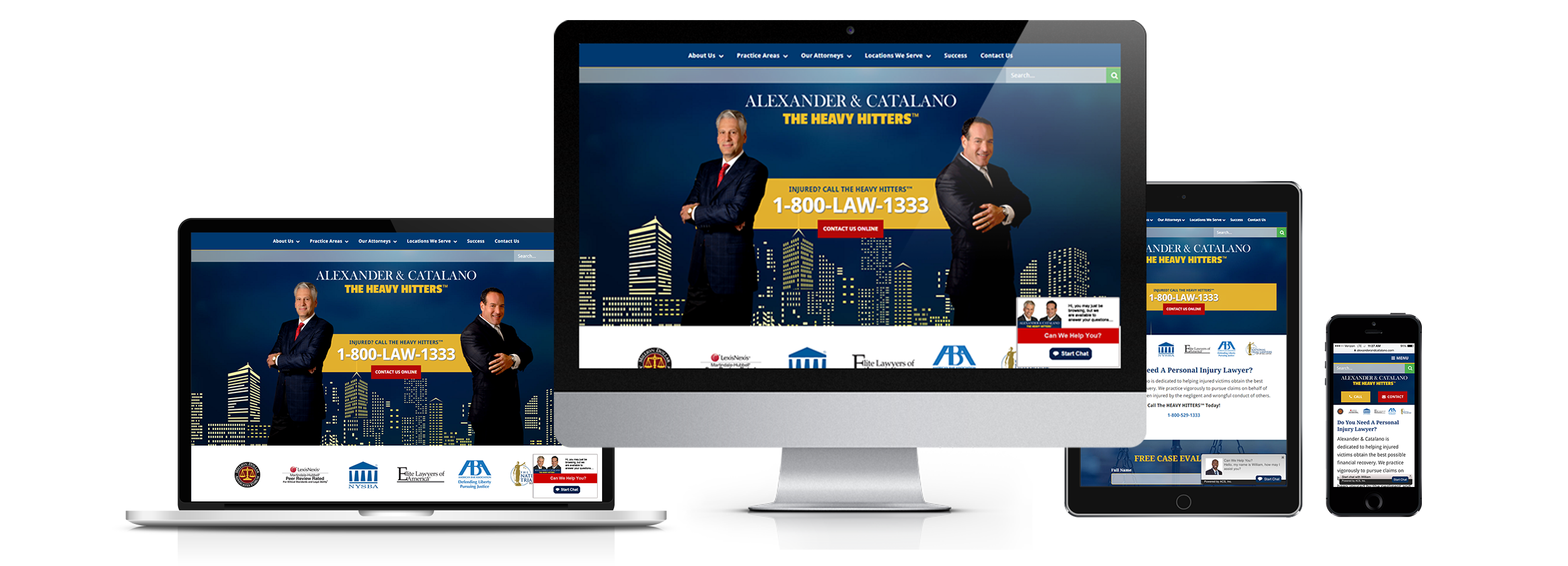legal website design, lead generation web design