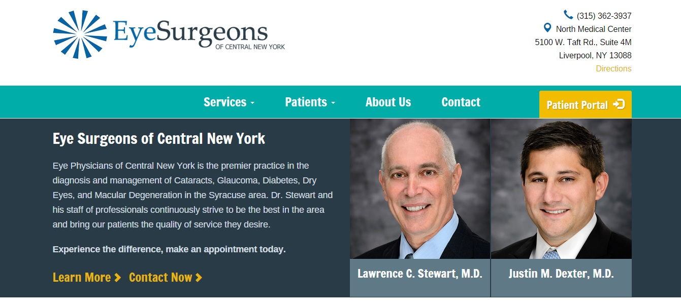 patient portal for Eye Surgeons of CNY