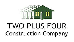 construction website design two plus four companies thumbnail by acs web design and seo