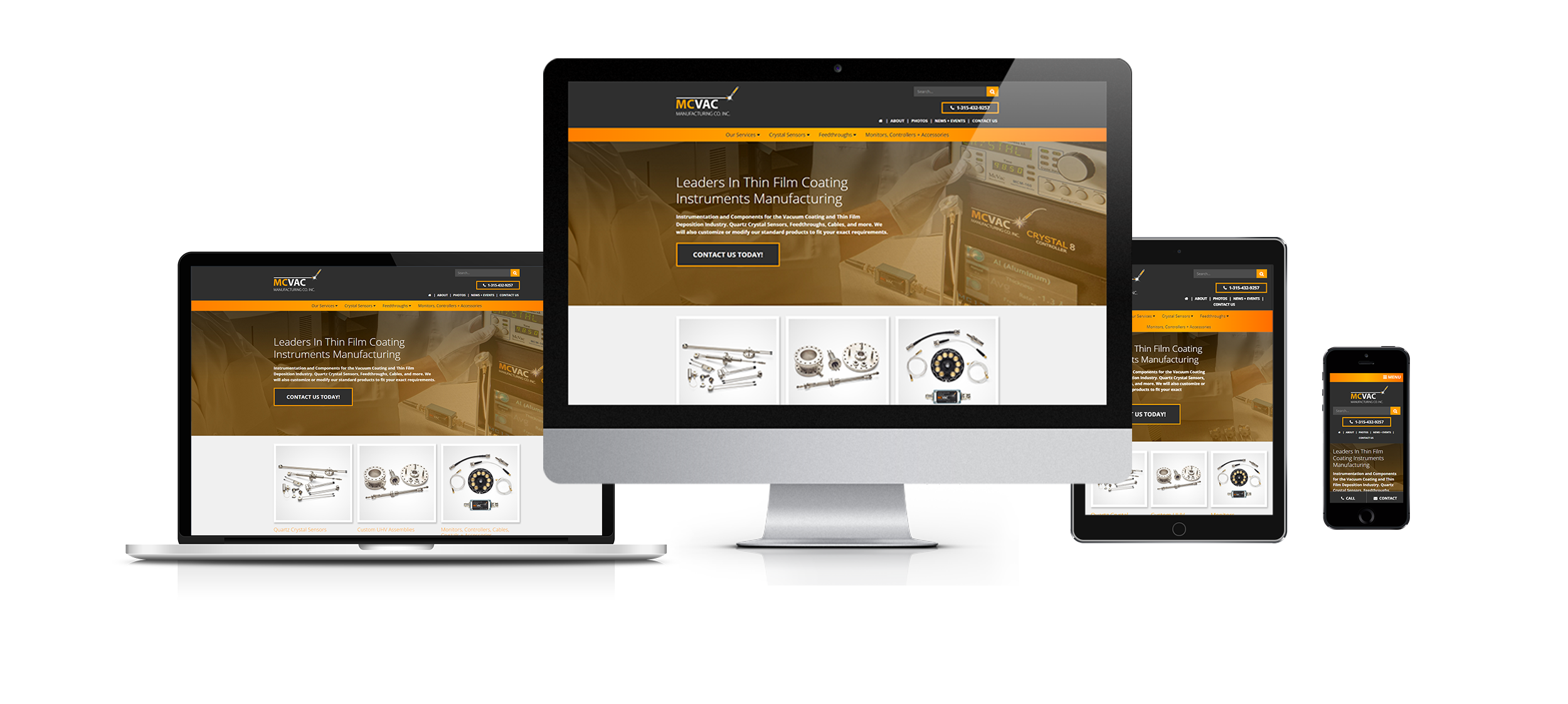responsive web design mcvac created by acs inc web design and seo