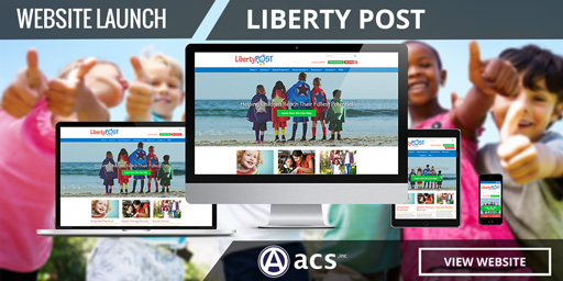 pediatric website design for liberty post launched by acs inc web design and seo