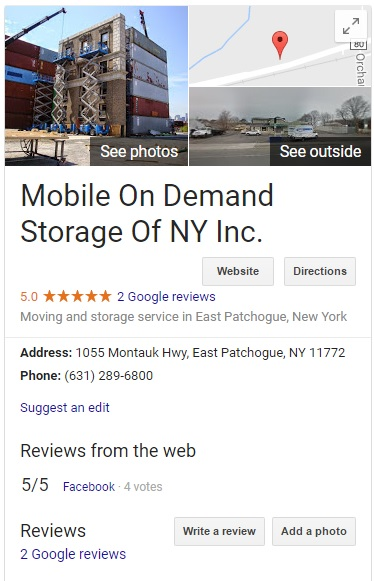 Website Design And Seo For Mobile On Demand Storage By Acs Inc Web