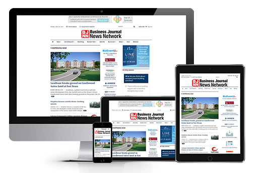 News Website Design Responsive Web Design Central New York Business Journal 2017 Acs Inc Web Design And Seo