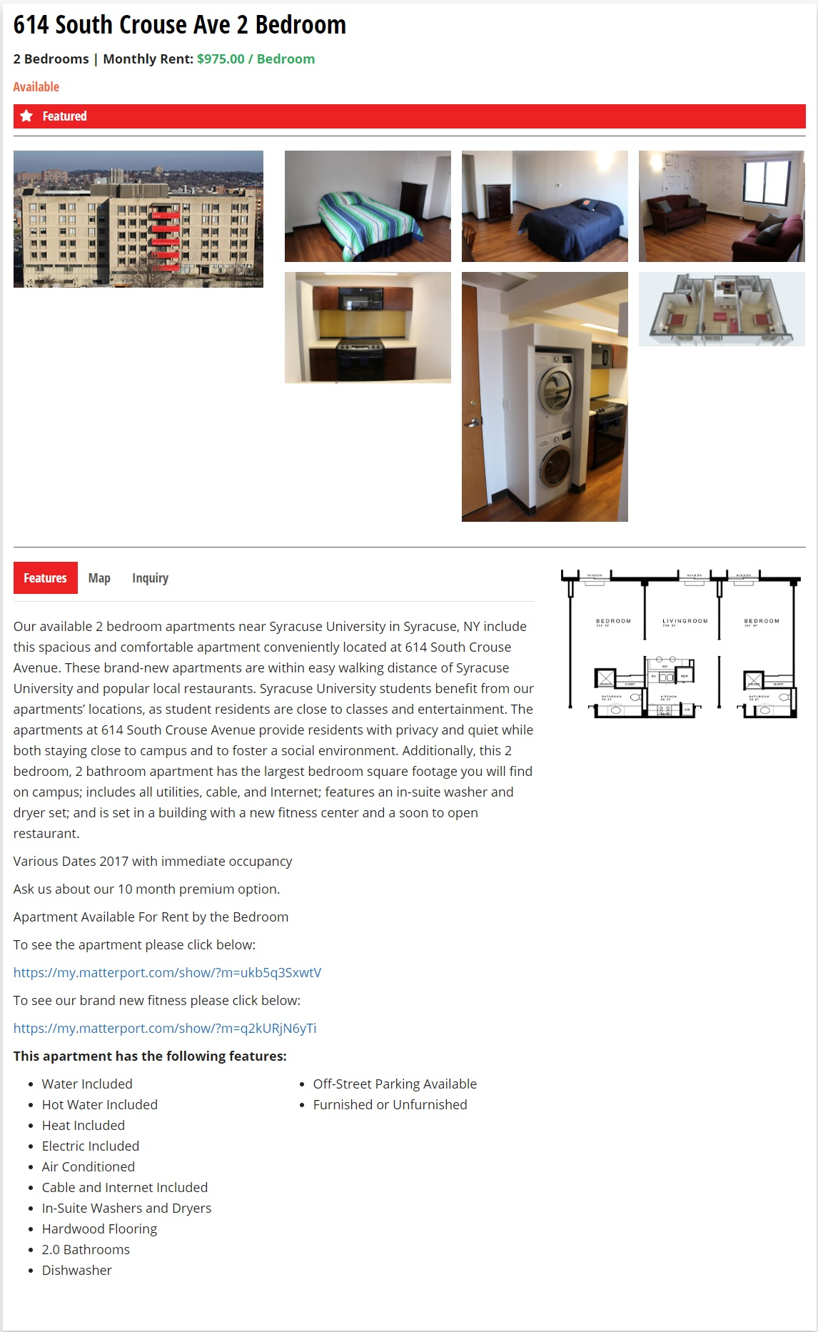 Apartment Website Design Property Student Apartments Website Design  Apartment Web Design .