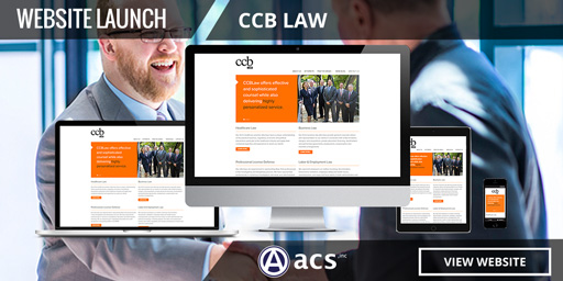 attorney website design for ccb law from acs inc web design and seo