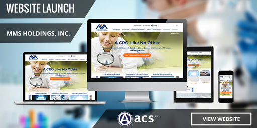 healthcare website design mms holdings portfolio by acs web design and seo