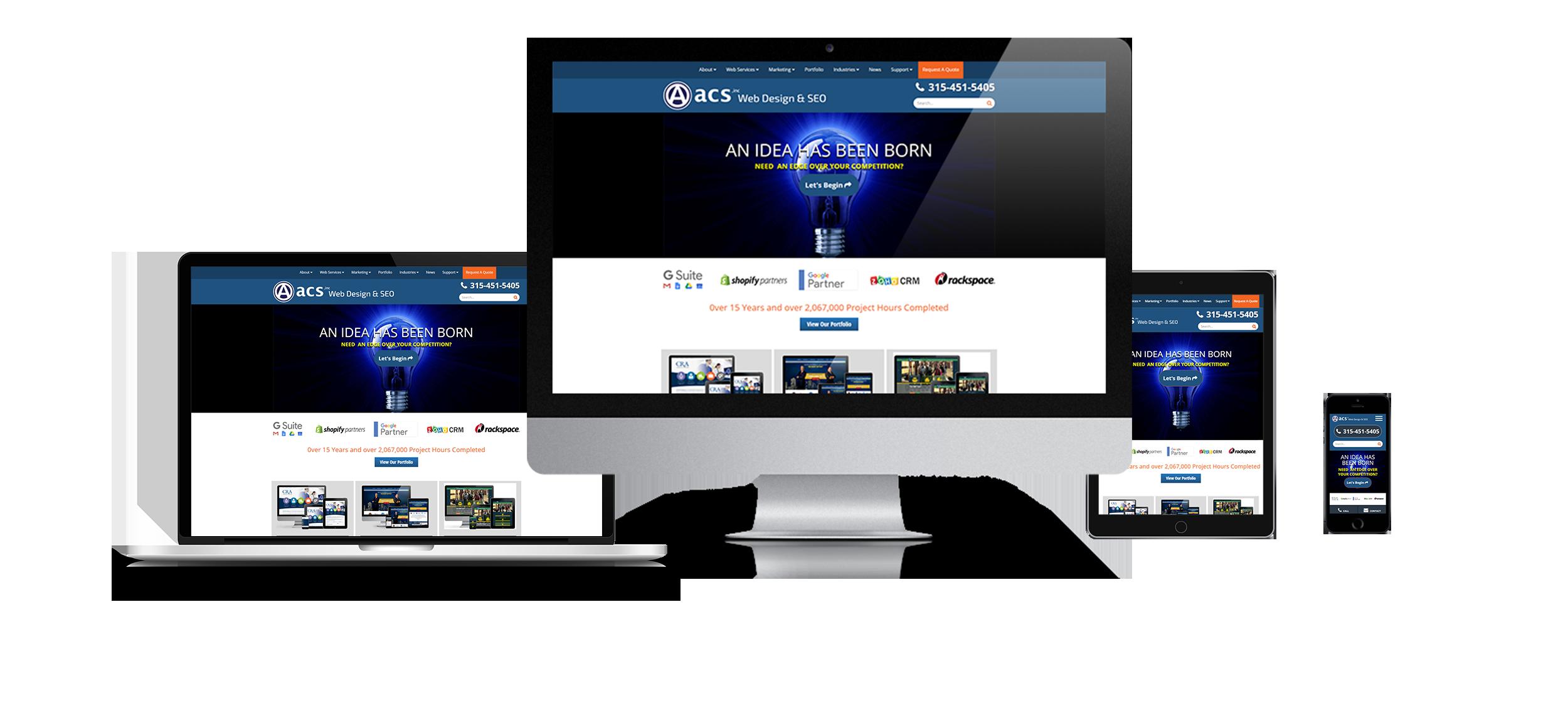 New York Responsive Web Design Acs Inc Web Design And Seo