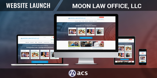 law firm website design moon law office listing by acs web design and seo