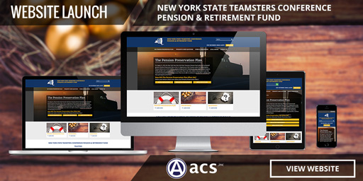 government website design teamsters listing from acs web design and seo