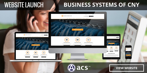 business website design portfolio listing from acs web design and seo