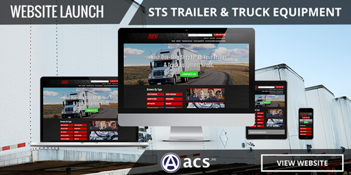 ecommerce website design sts portfolio by acs web design and seo