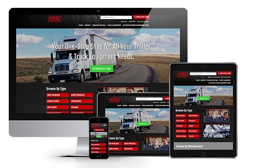 ecommerce website design responsive website design for sts by acs web design and seo