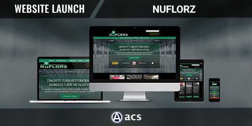professional website design portfolio for nuflorz by acs web design and seo