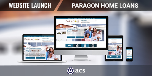 mortgage marketing portfolio for paragon home loans by acs web design and seo
