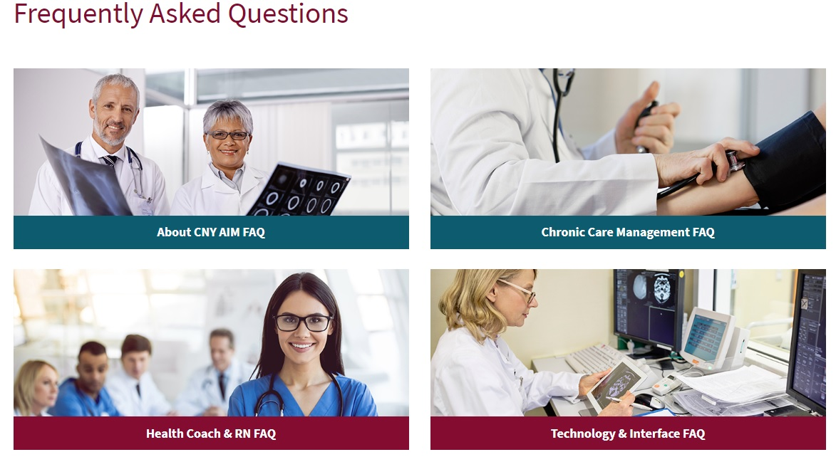 healthcare website design faq for cny aim from acs web design and seo