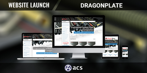 enterprise eCommerce website design dragonplate portfolio listing from acs web design and seo