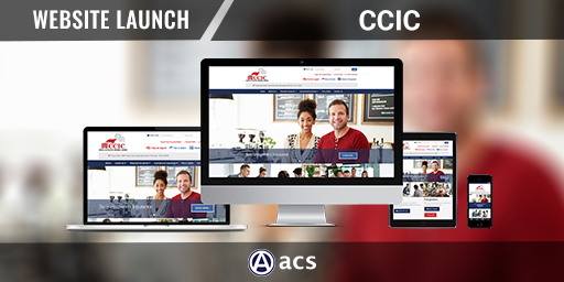 insurance website design ccic portfolio listing from acs web design and seo
