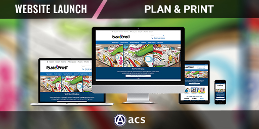 small business website design portfolio listing plan and print by acs web design and seo