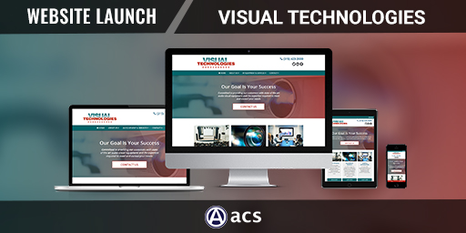 equipment dealer website design portfolio visual technologies from acs web design and seo