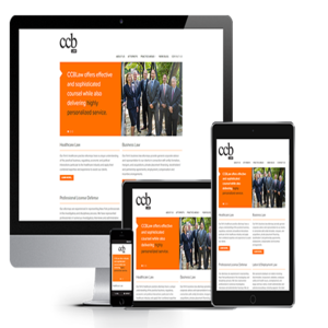 law firm web design thumb ccb law from acs web design and seo