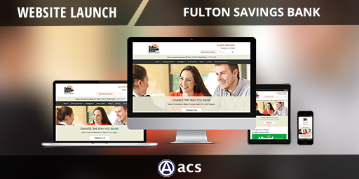 bank website design image of fulton savings bank website project click to view project details
