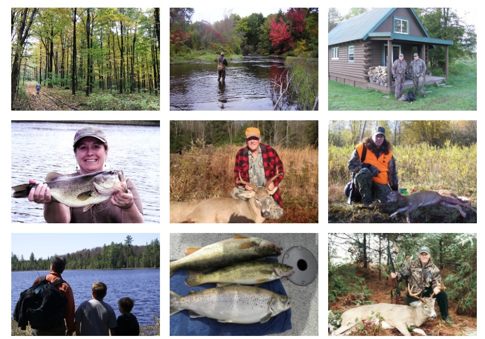 new york web design photo gallery of hunting and fishing pictures