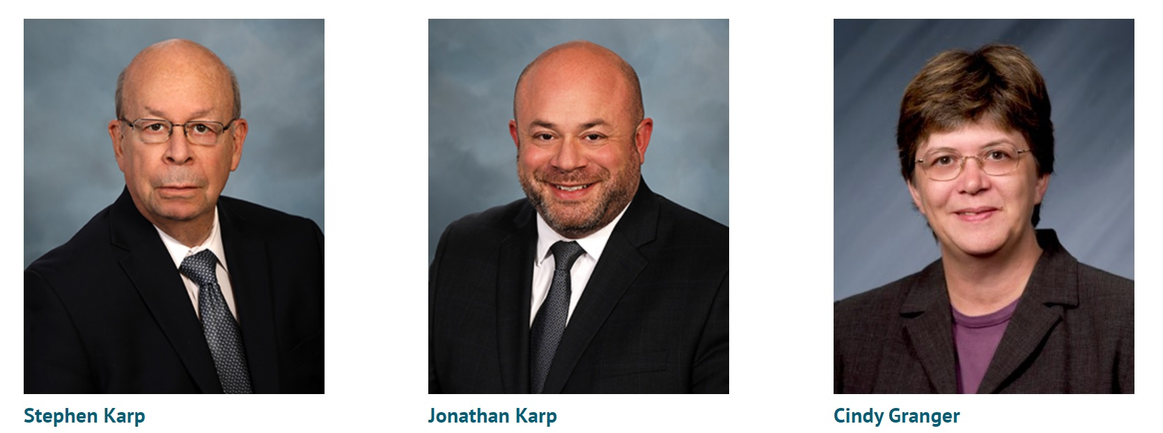 law office web design image of staff directory images of stephen karp jonathan karp and cindy granger of karp law office